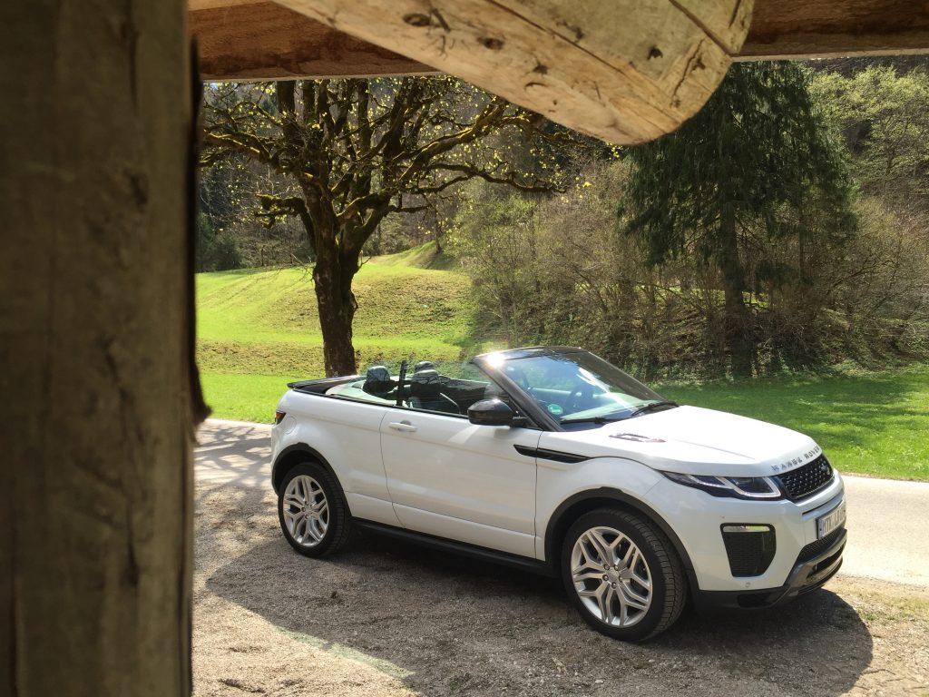 Travel Dreams (4): Mit dem Range Rover Cabrio ins Mountain Hideaway Das Graseck