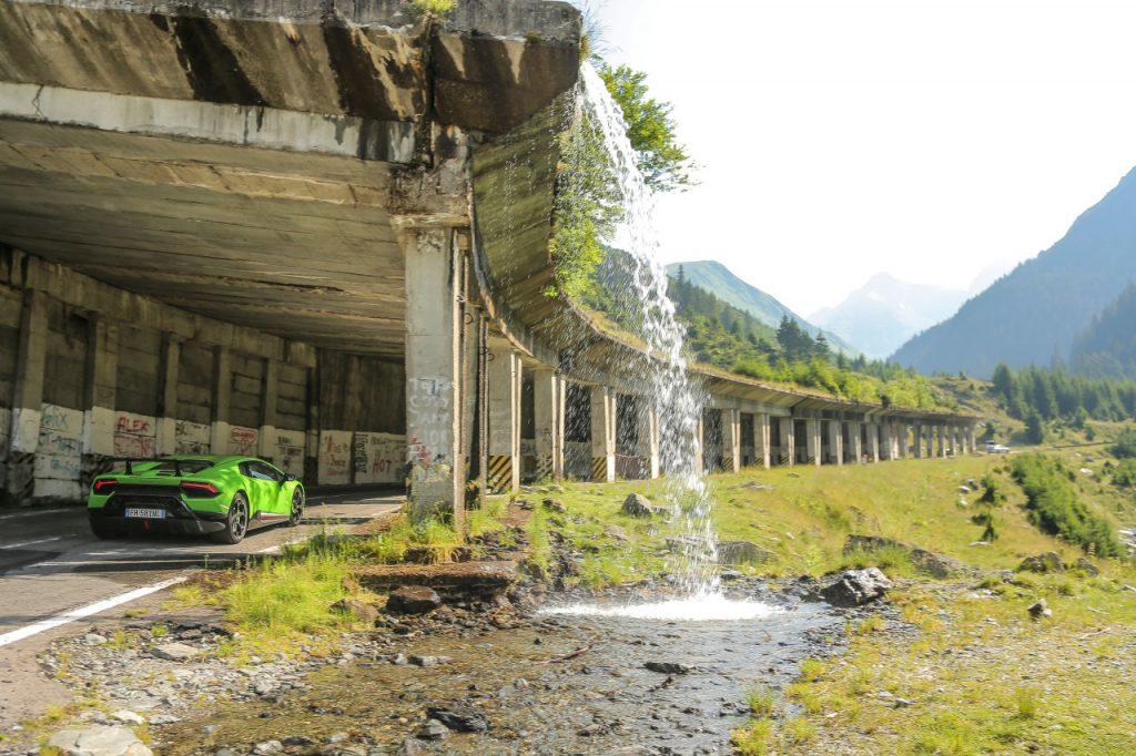 Lamborghini, Transfagarasan