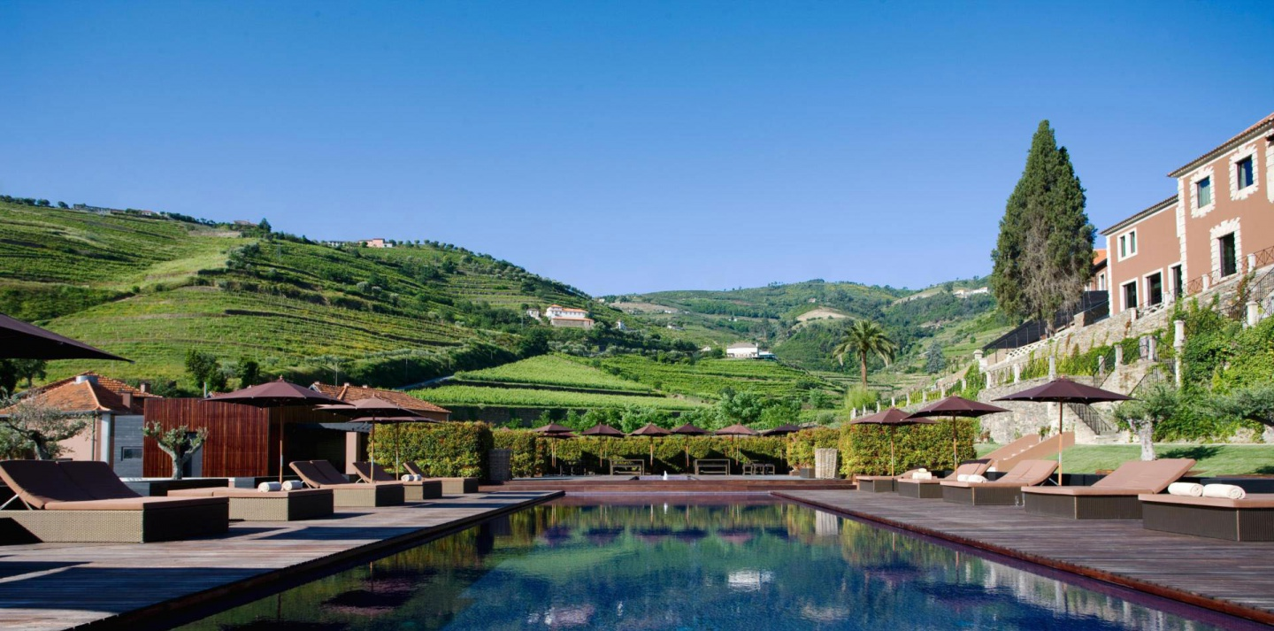 six senses douro valley pool