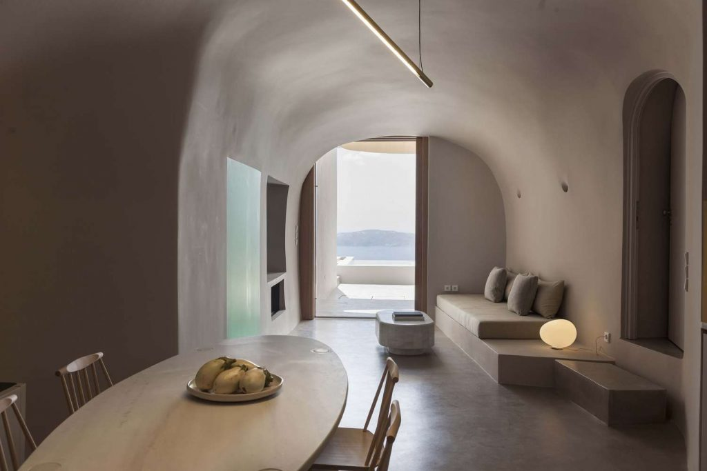santorin, Yiorgos Kordakis, Kapsimalis Architects, ferienhaus