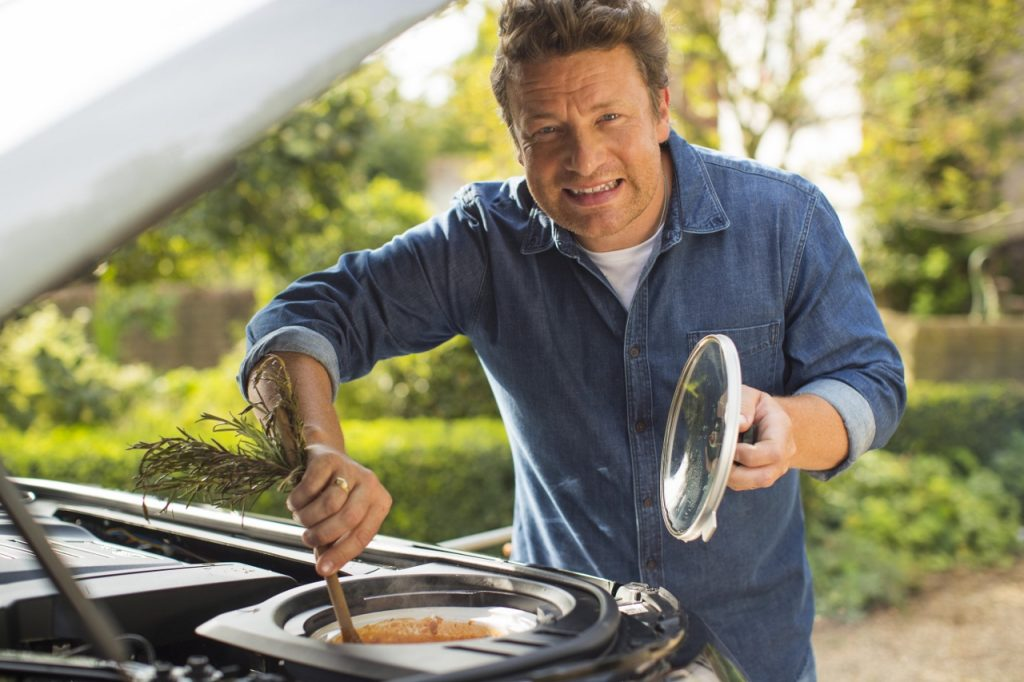 land rover discovery, jamie oliver, gentlemens journey