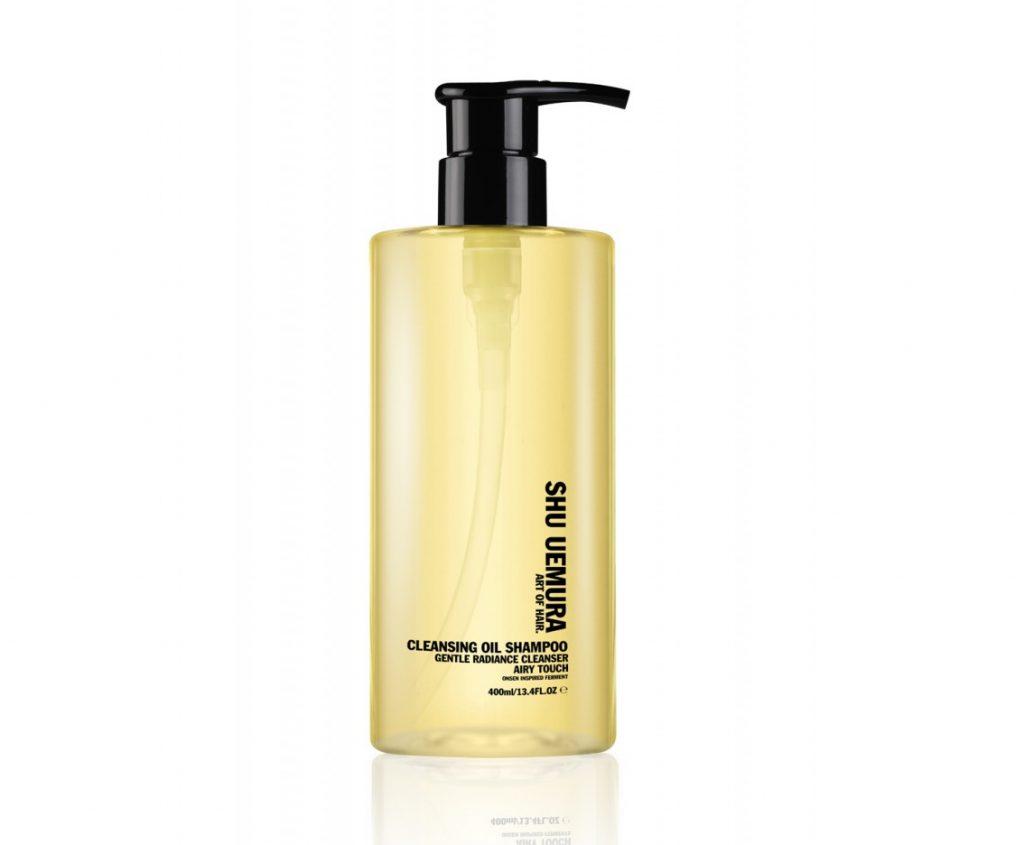 Shue Uemura oil cleanser shampoo, pflege-produkte, gentlemens journey