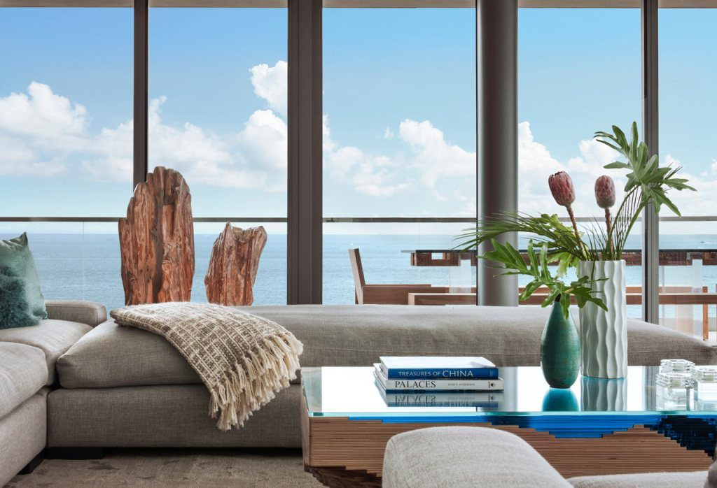 design-penthouse in miami, ocean penthouse by smiros architects, smiros, miami