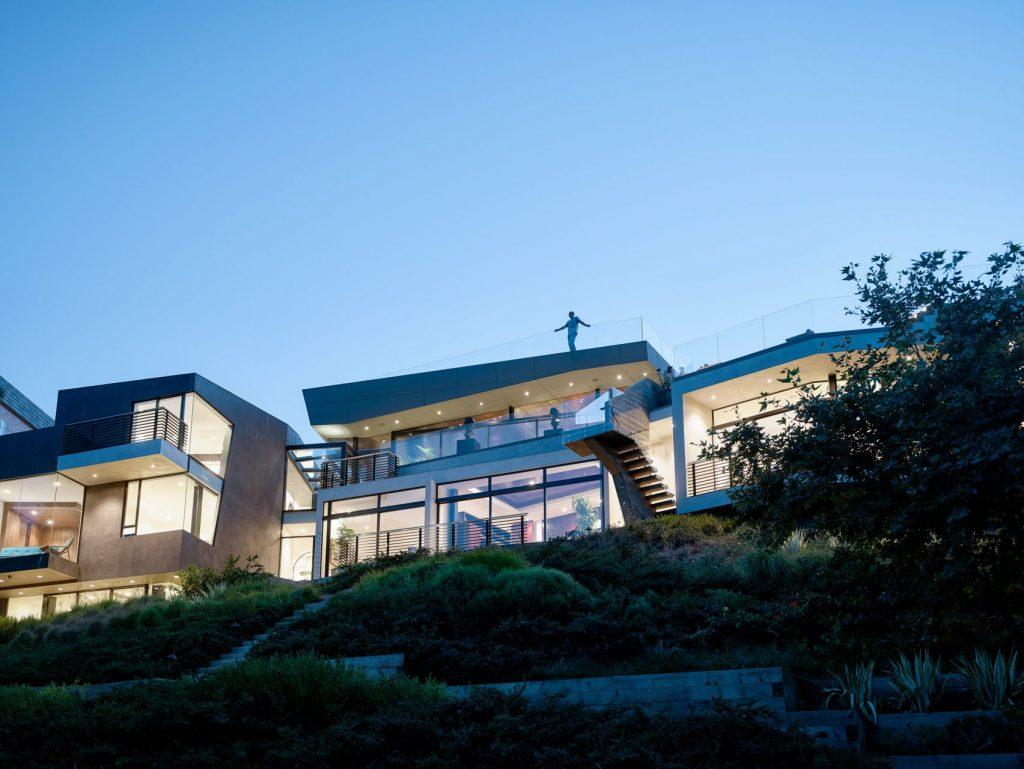 Design-Villa in LA, barrington residence
