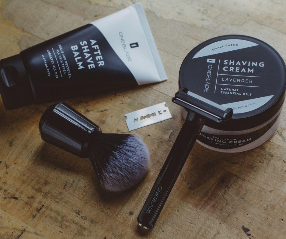 design-rasierer, shave, care, pflege, shavette
