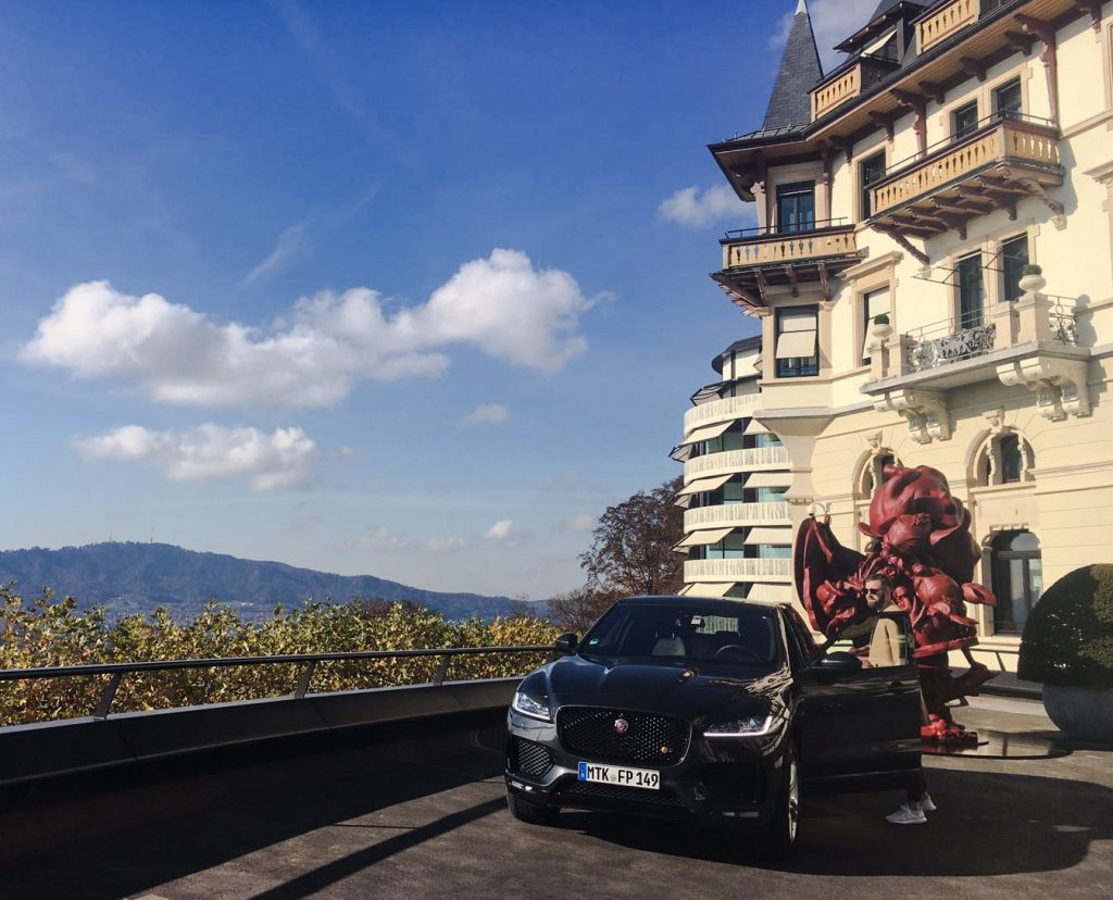 jaguar f-pace, gentlemens journey, zürich