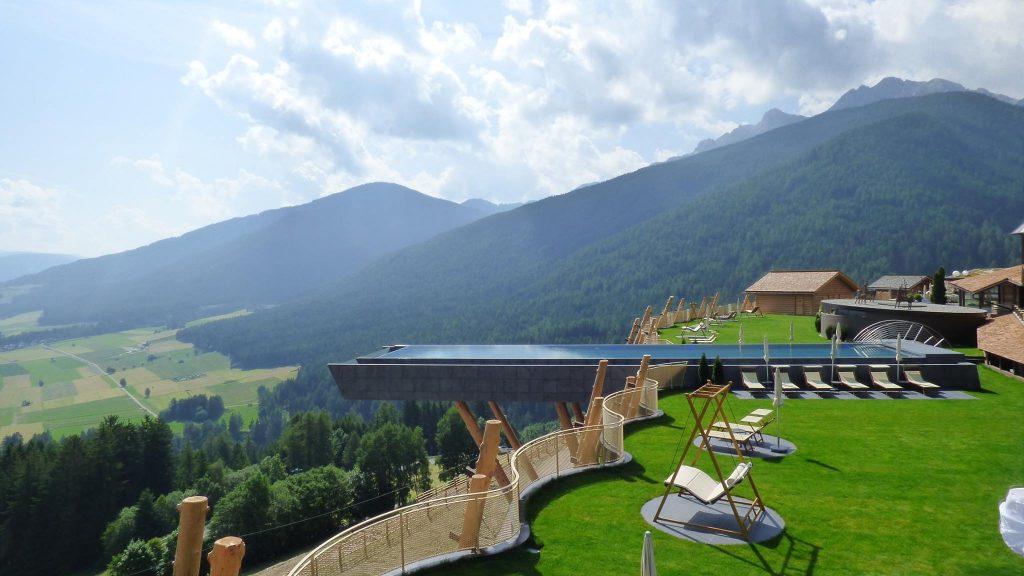 hotel hubertus, skypool hotel hubertus, Kurztrips zu Design-Pools