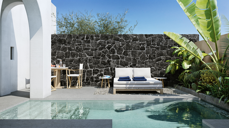 Kurztrips zu Design-Pools, pools, hotel,istoria hotel, istoria santorini