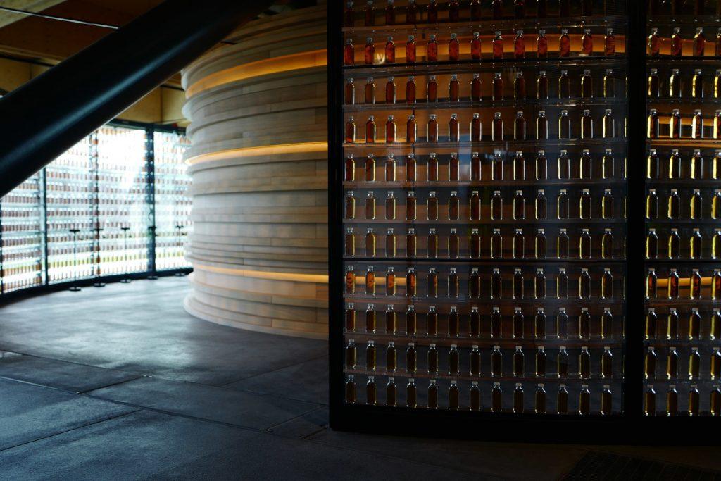 the macallan distillery, whisky, design