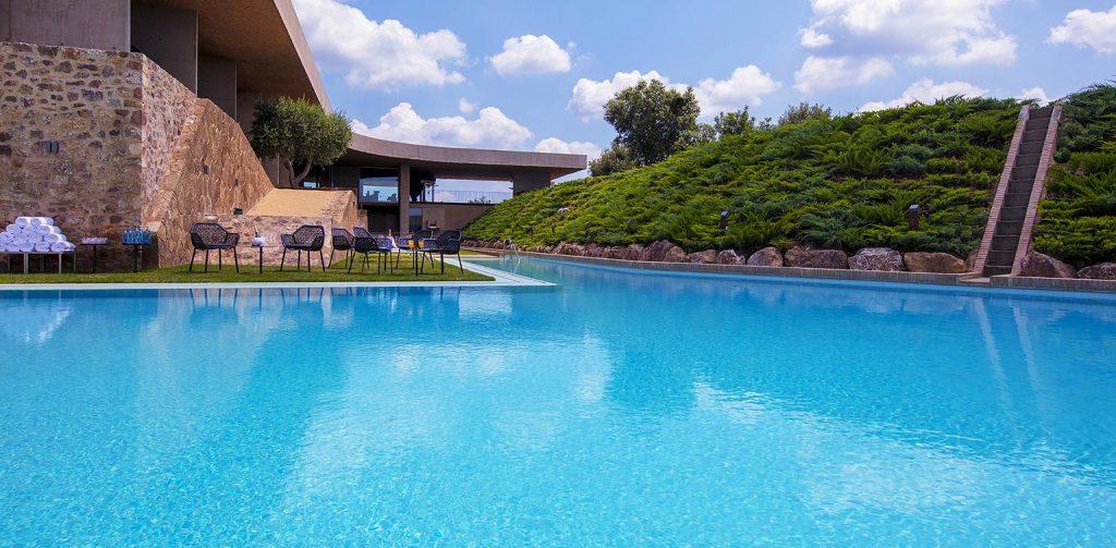 Hotel Sants Metges pool