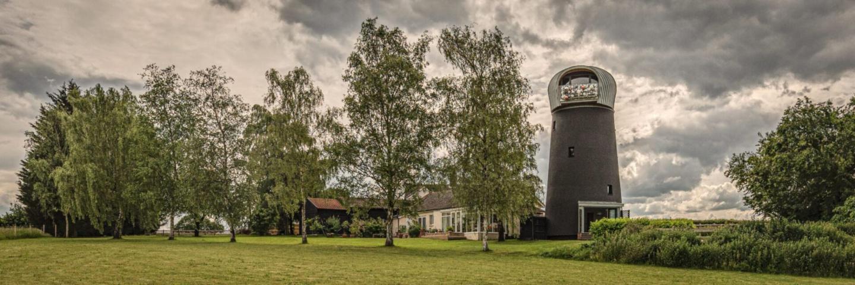 The Windmill Suffolk Design-Mühle zum mieten