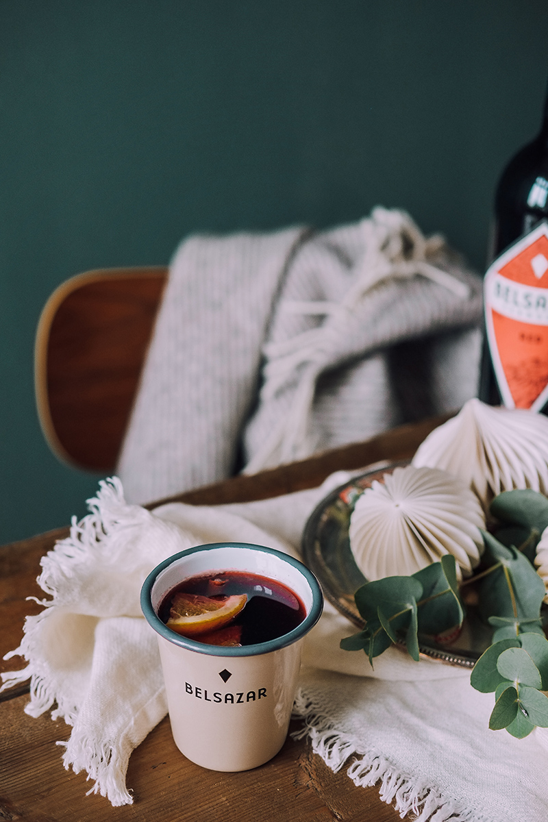 Belsazar Vermouth winter drinks