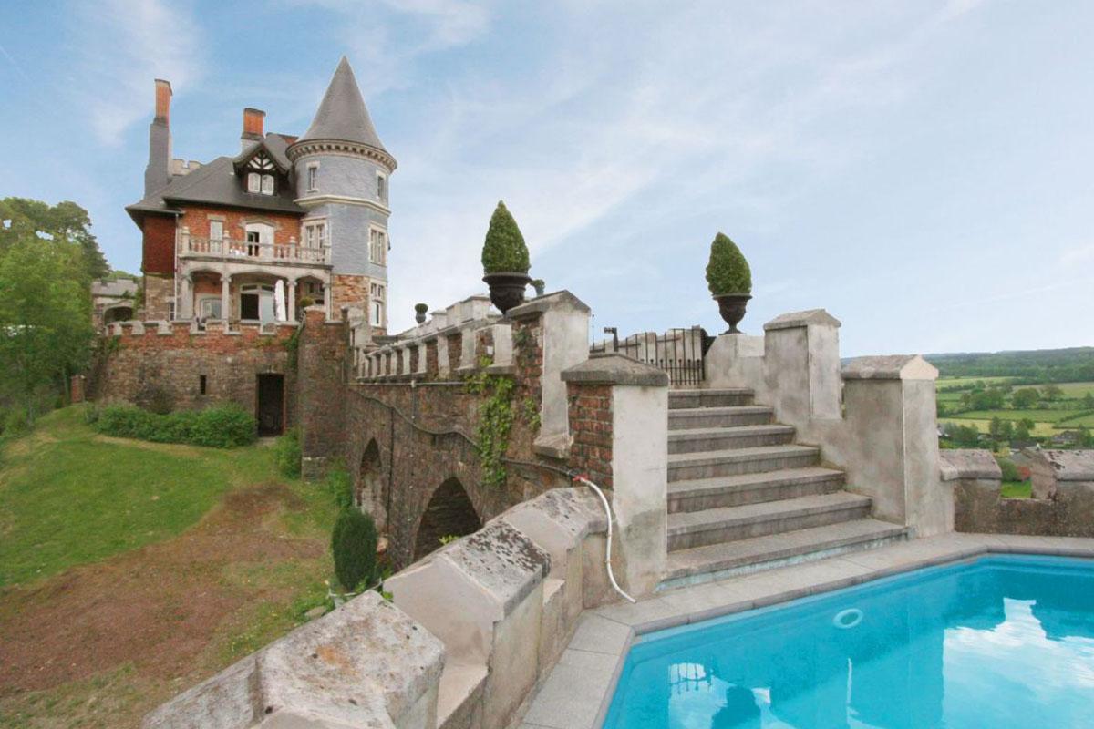 le chateau balmoral übernachten im schloss hotel