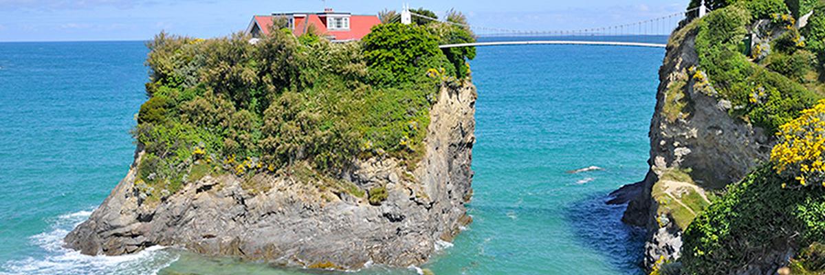 The Island Newquay Cornwall ungewöhnliche Ferienhäuser