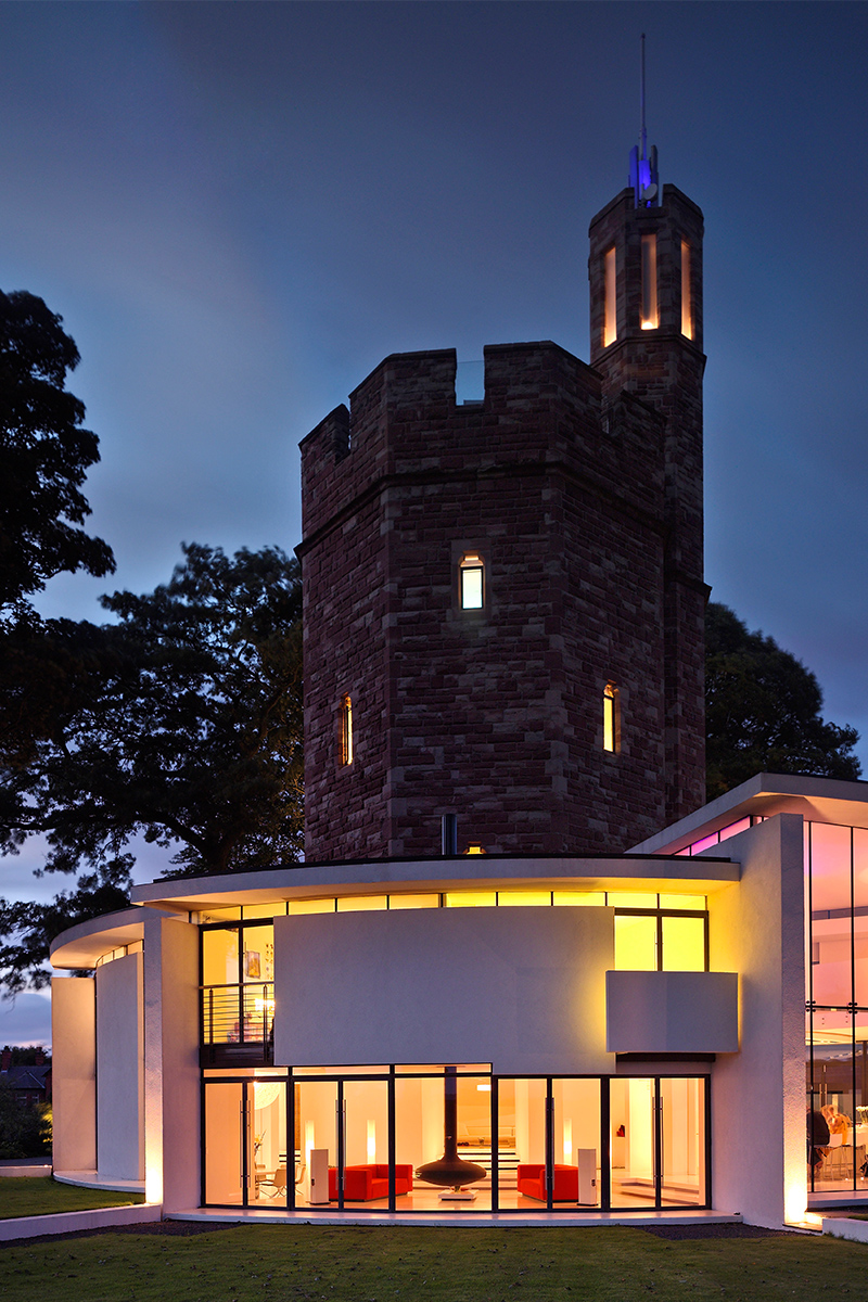 castle hotels lymm water tower