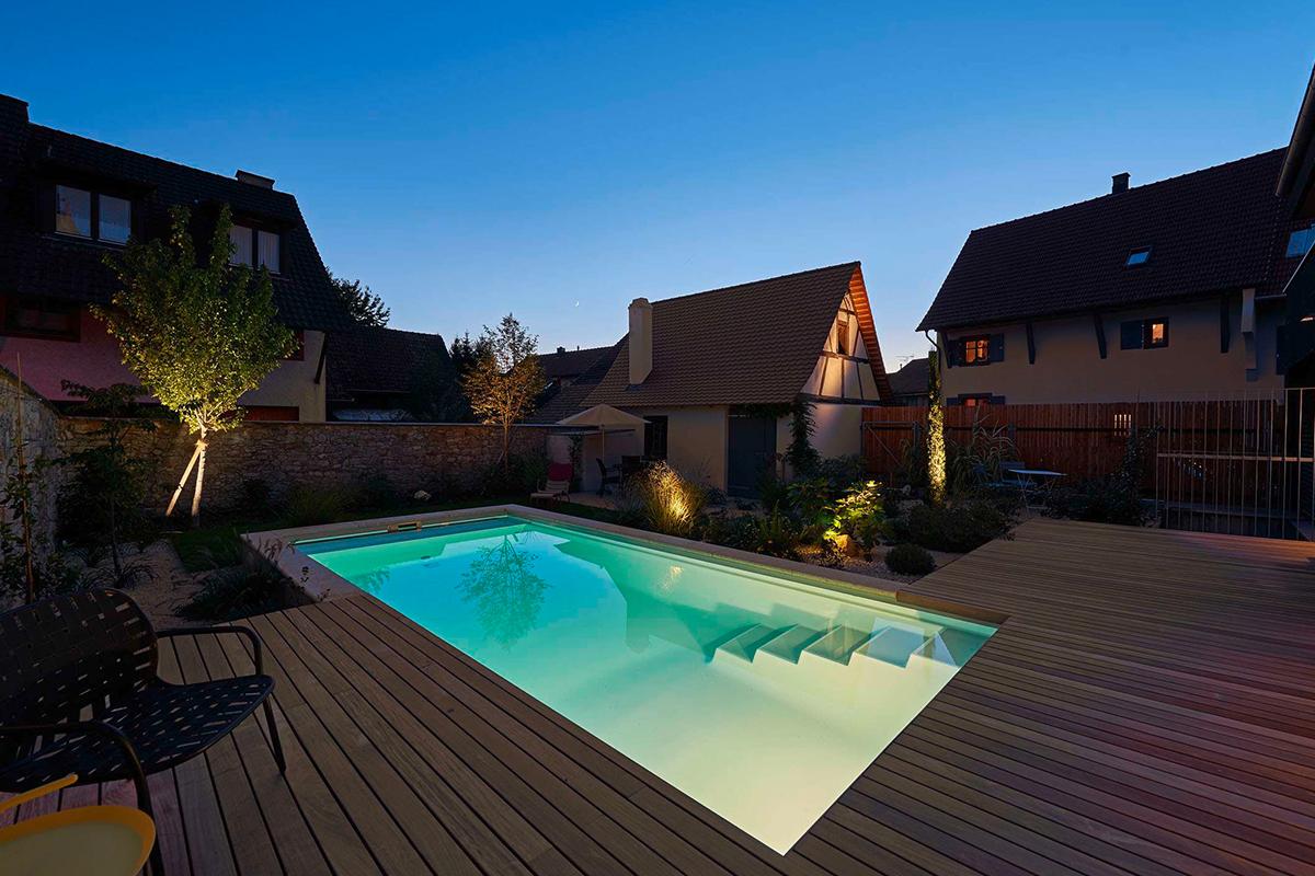 logis 195 gästehaus wein pool
