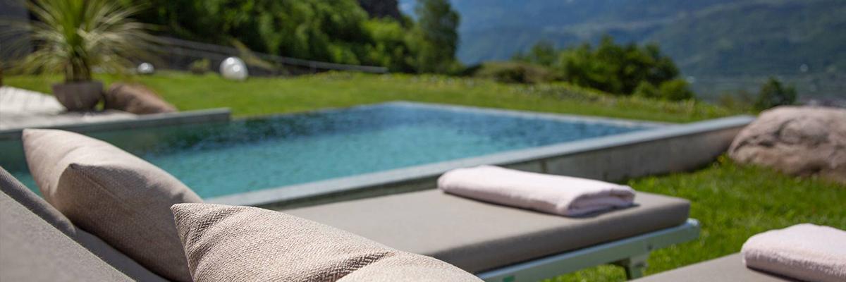 Chalet Eichenstein meran südtirol chalet urlaub pool