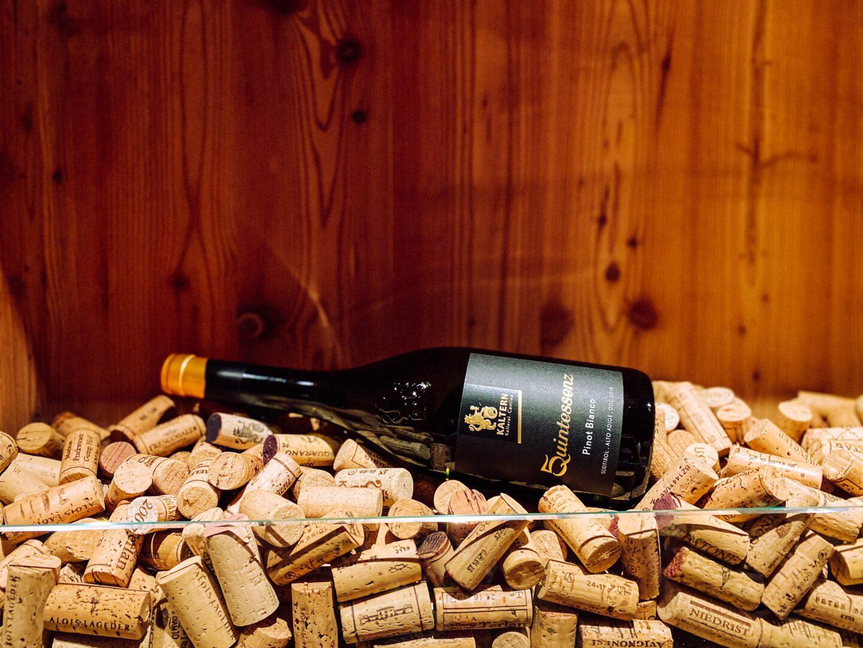 Vinum Hotel Ansitz Plantitscherhof Meran Südtirol Weinkaufsliste