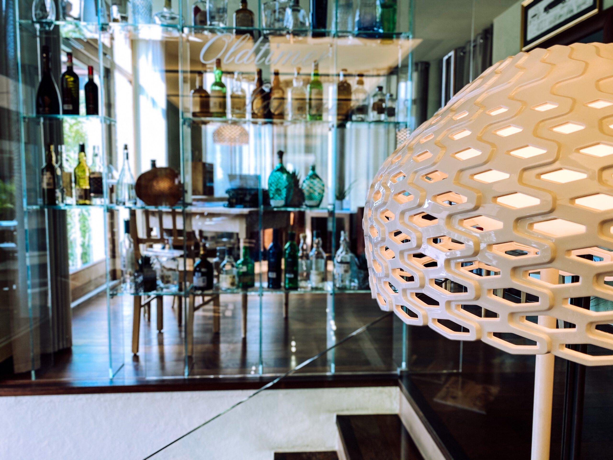 Vinum Hotel Ansitz Plantitscherhof Meran Südtirol bar