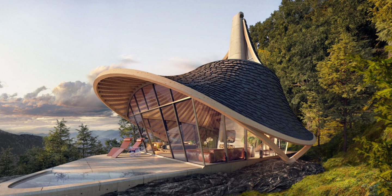 LEAD Architects yezo retreat design location japan hokkaido